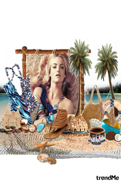 Queen of the Sandcastle from collection Summertime by NeLLe