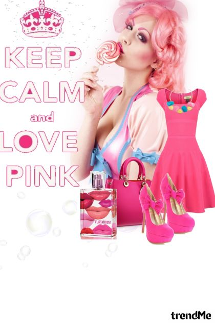 love pink  from collection Spring/Summer 2010 by bella jimena