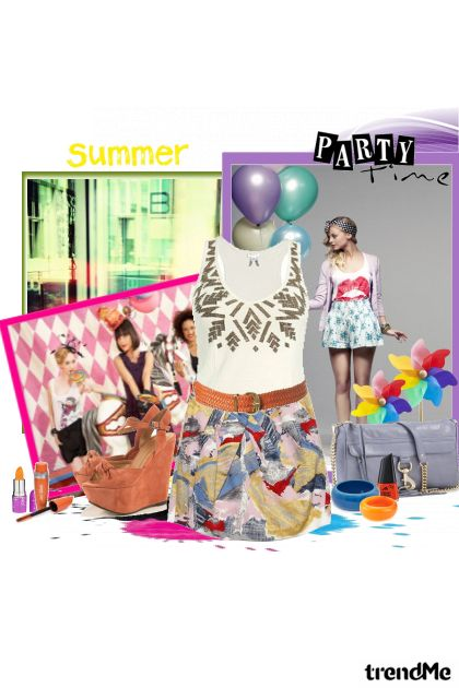 summer party... from collection SUMMER 2011. by Tamara Z