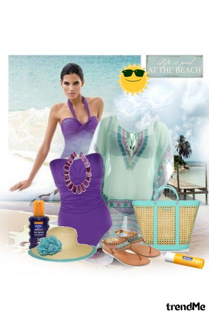 life is good at the beach... from collection SUMMER 2011. by Tamara Z