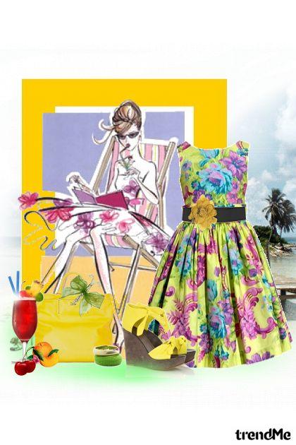 ..djevojka u ljetnoj haljini... from collection SUMMER 2011. by Tamara Z
