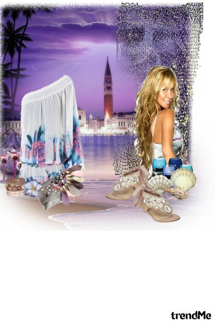 summer night from collection Ljubav by Marina