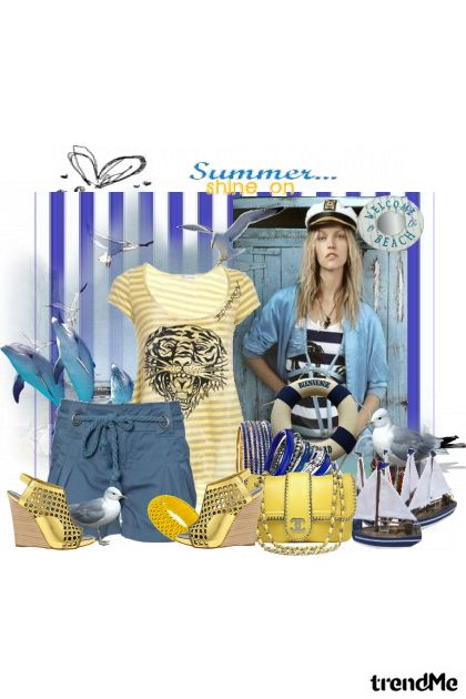 summer shine on from collection ljeto by Marina