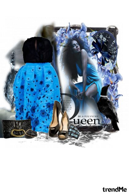 queen from collection misterij noci by Marina