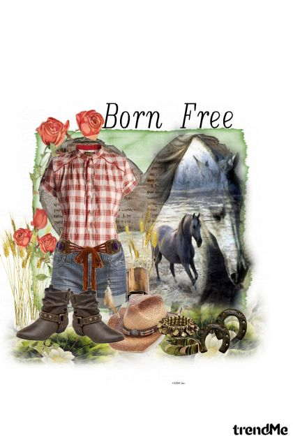 Born free from collection u potrazi by Marina