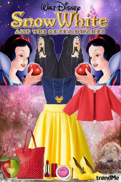 Snow White  aus der Kollektion Fantasy Collection  von Amber Maria Khan Amber Maria