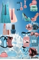 blue  end     pink