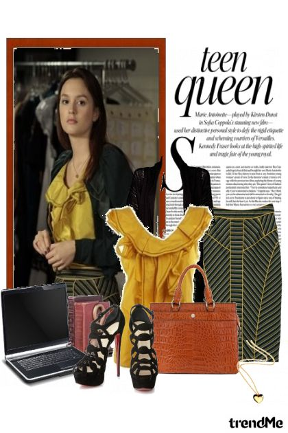 Queen B. from collection Girls with style by GossipGirl