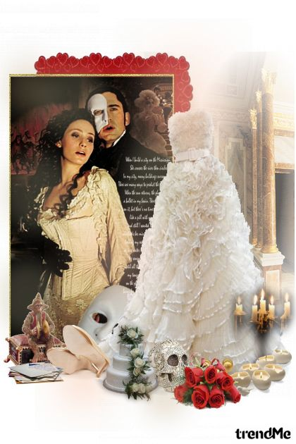Phantom From The Opera aus der Kollektion Romance von GossipGirl
