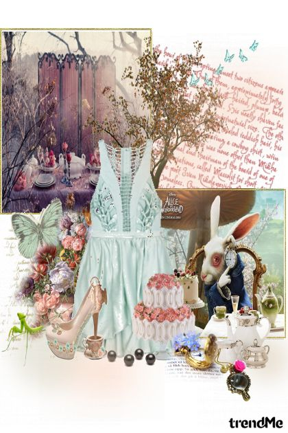 Alice in Wonderland from collection Svaštarija by GossipGirl