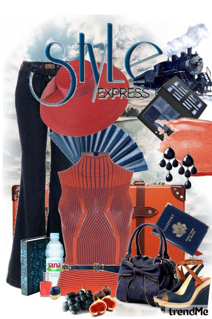 Travel With Style Express from collection UrbanNomad by majakovska