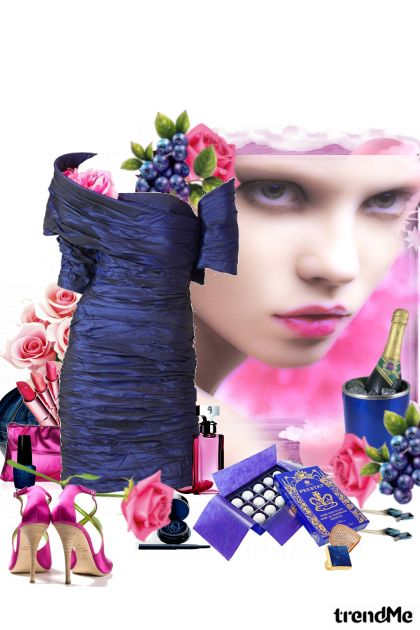 Lapis Lazuli Night, Rose Dawn from collection other-collection by majakovska