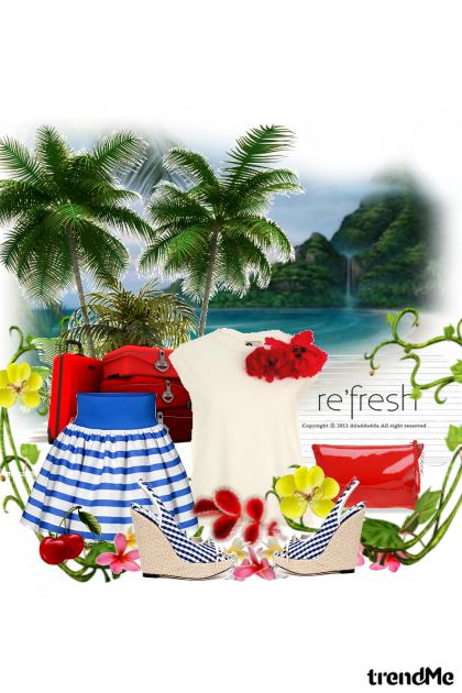 Island In The Sun from collection adventures by Anita An