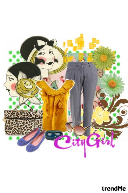 city girlie girl <3 from collection gradska cura by Anita An