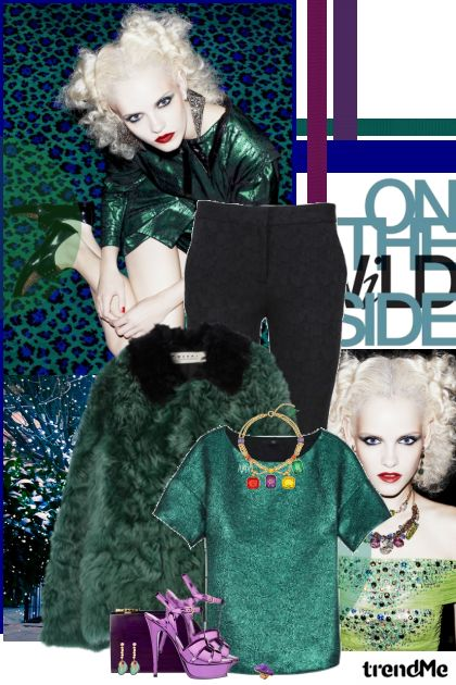 Take a walk on the wild side! from collection Party!! by Lady Di ♕