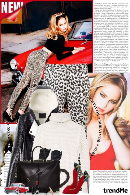 T.G. I. F. from collection BLACK & WHITE LOOKS! by Lady Di ♕