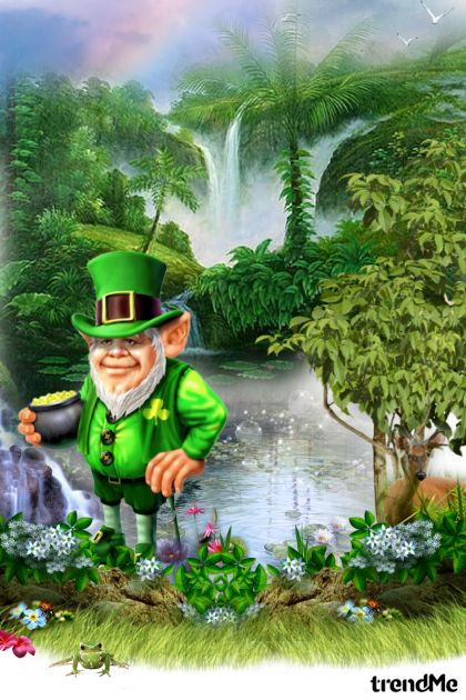Happy St. Patrick's Day! aus der Kollektion Art bis Lady Di ♕