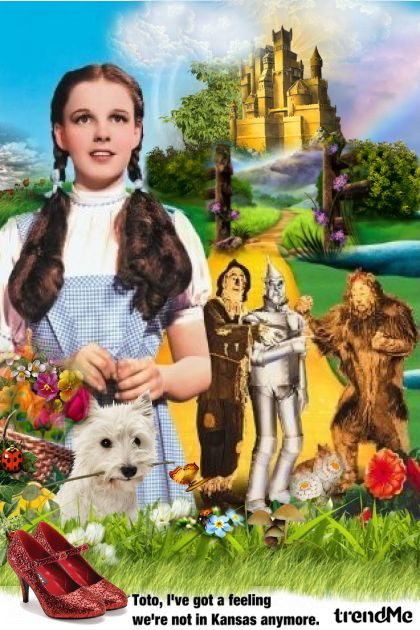 The Wizard of Oz from collection Art by Lady Di  