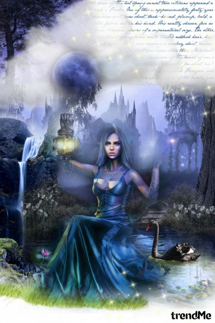 Midnight magic! from collection Art by Lady Di ♕