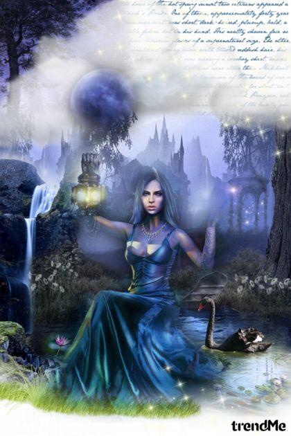 Midnight magic! De la colección Art por Lady Di ♕