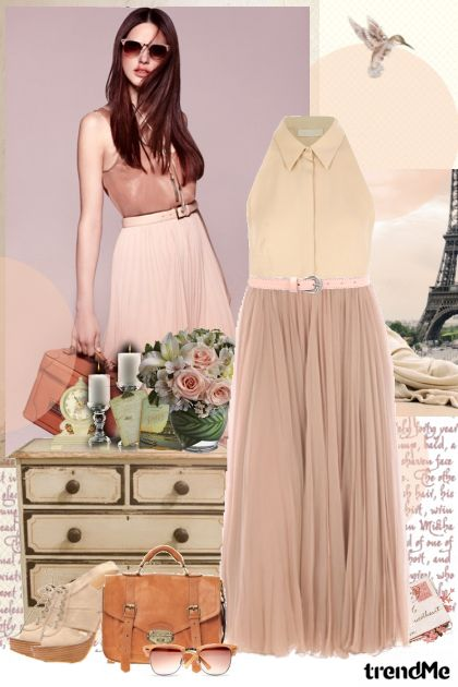 Chic in nude! from collection Pastel dreams... by Lady Di ♕