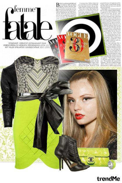 Femme fatale on the streets! from collection S/S Trend reports for 2011. by Lady Di ♕