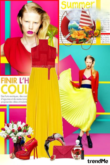 Color blocking! from collection SUMMER 2011! by Lady Di ♕