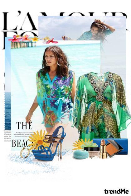 Blue Lagoon dalla collezione Summer di Doris