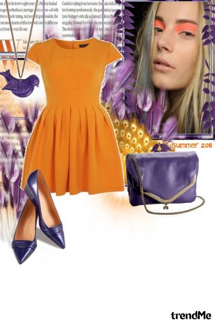orange from collection Proljeće/Ljeto 2011 by i d