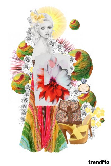 iceCreamLady from collection Proljeće/Ljeto 2011 by izjani (zora škrgulja)