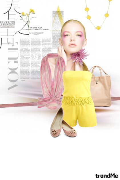 Yellow summer from collection Proljeće/Ljeto 2011 by izjani (zora škrgulja)
