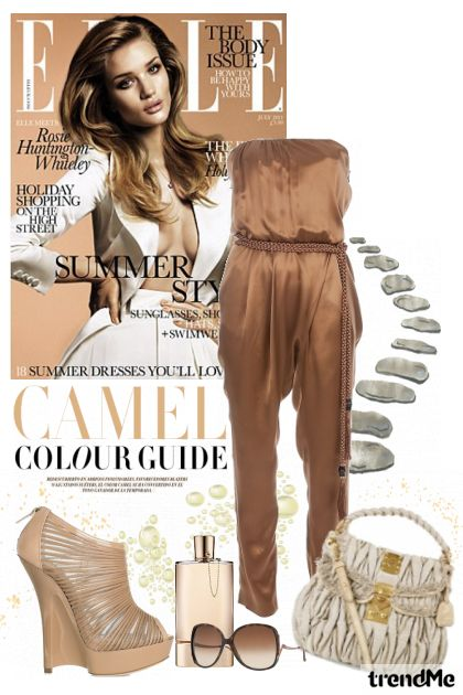 summer in jumpsuit from collection summer 2011 by majamaja