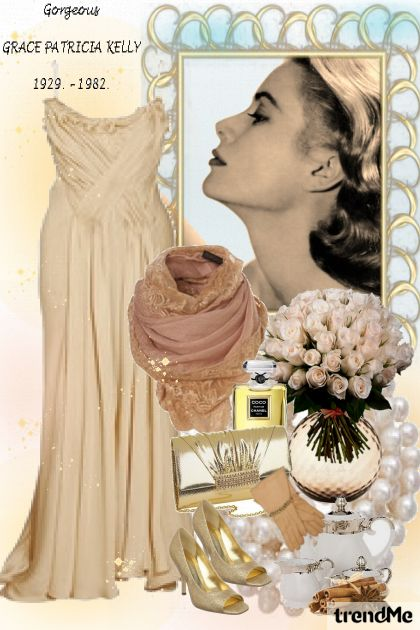 A Tribute to Grace Kelly from collection Lijepe glumice/žene by Danijela ♥´´¯`•.¸¸.Ƹ̴Ӂ̴Ʒ