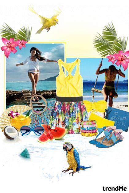 those lazy, hazy, crazy days of summer  コレクション: svijet u boji by Hartikainen Doña Marisela