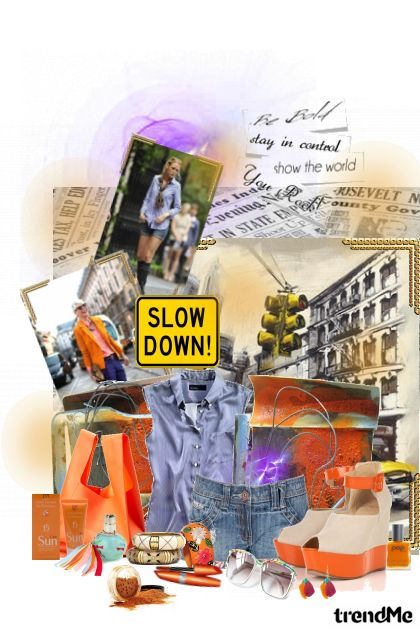 Slow down!! from collection In Love With Fashion by Lucija Matković