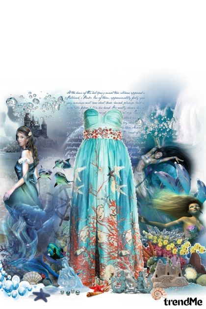 Diary of the Sea Queen from collection Summer time by fashion_lover