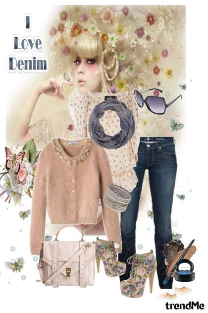 I Love Denim from collection Mina by ^ Mina 
