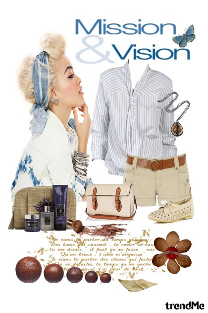 Mission & Vision from collection Mina by ^ Mina