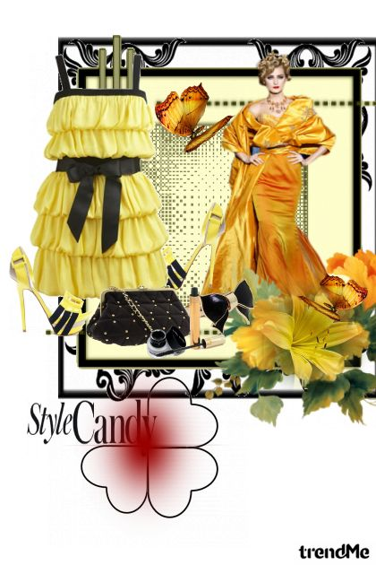 Stlyle candy from collection Spring/Summer 2012 by Ajna