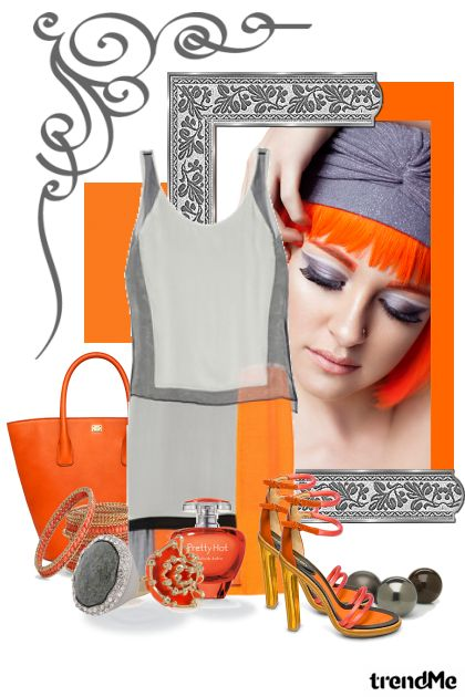 Orange Spring 2013 from collection Orange Spring by romana negovetic