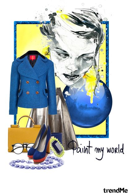 Paint my World from collection Paint my World by romana negovetic
