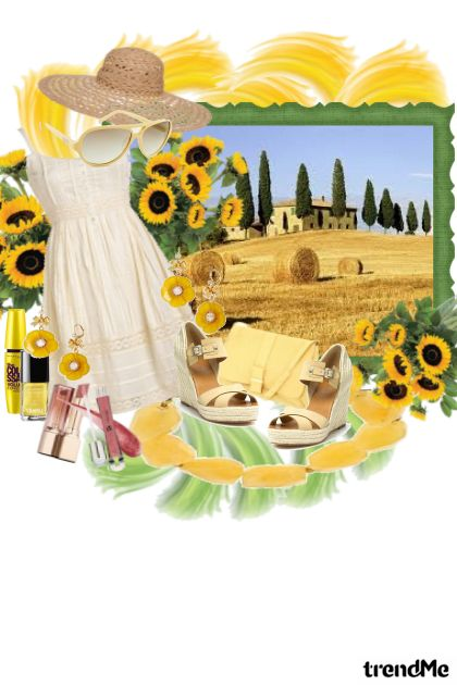 La bella Toscana from collection Country by Valentina Vlah