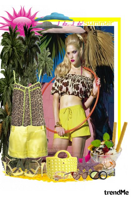Summer Sun! from collection LJETO 2011. by Monika