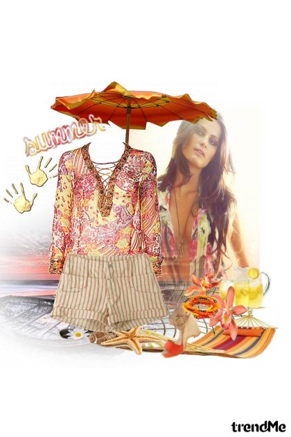 Summer touch.... from collection LJETO 2011. by Monika