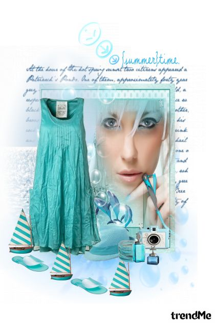 Blue Summertime! from collection LJETO 2011. by Monika