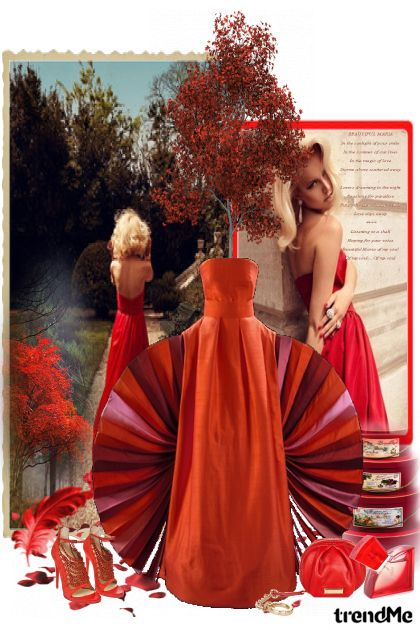 More than RED! from collection Proljeće/Ljeto 2011 by Monika