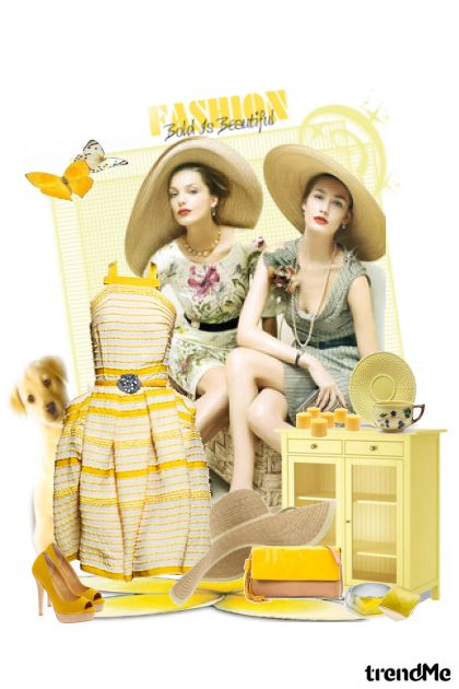 Happy fashion day! from collection Proljeće/Ljeto 2011 by Monika