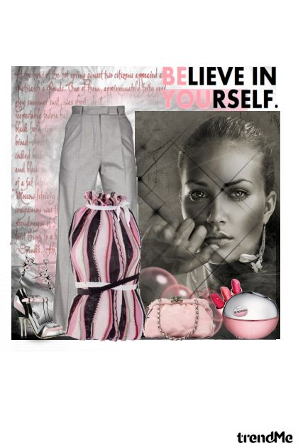 Believe In Yourself. from collection Proljeće/Ljeto 2011 by Monika