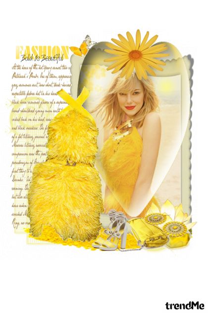 My little sunshine! aus der Kollektion Proljeće/Ljeto 2011 von Monika