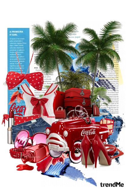 fun...cocacola...summer from collection fun...cocacola...summer by Svjetlana Zajec